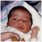 David as a Newborn