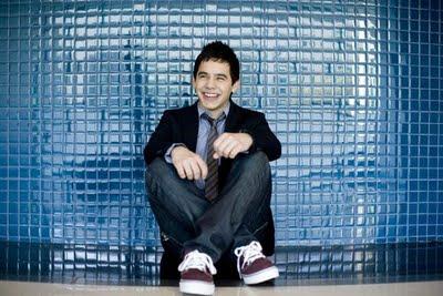 david sitting