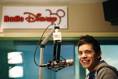 David Archuleta at Radio Disney