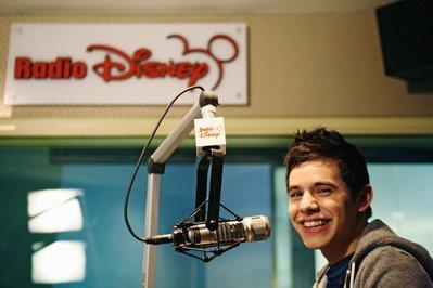 David Archuleta at Radio Disney