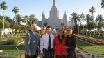 David Archuleta and family at the Oakland, CA, LDS  Temple