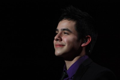 David Archuleta performing at MGM Grand Foxwood, 17 Dec 2009