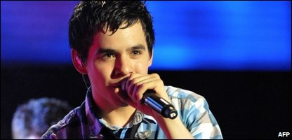David Archuleta in concert