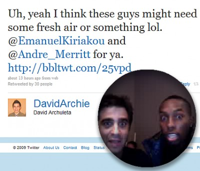 Bubble Tweets from about David Archuleta
