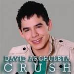 "David Archuleta single, ""Crush"" cover art"