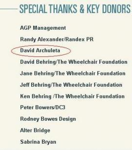 donors for the Plane to Haiti