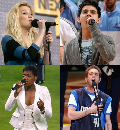 four singers