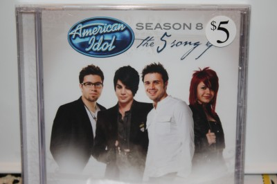 American Idol Season 8 CD cover