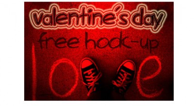 Valentine's Day, Free Hook Up graphic art
