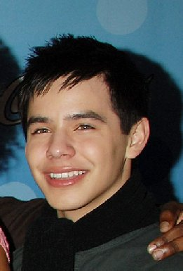Close up of David Archuleta