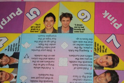 m magazine game page
