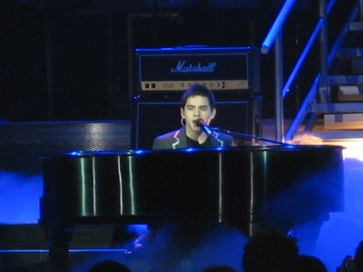 David Archuleta at the piano