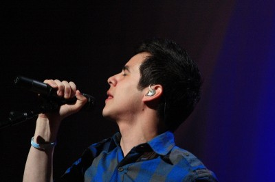 David Archuleta at Utah Christmas concert, 2009