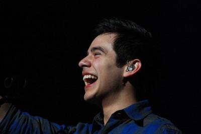 David Archuleta at Utah Christmas concert, 2009