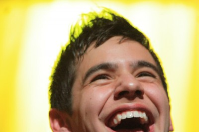 sunshine smile from David Archuleta