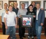 David Archuleta receiving Gold Certification for his album