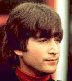 John Lennon of The Beatles, circa 1965