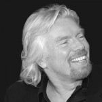 British billionaire balloonist, Richard Branson of Virgin