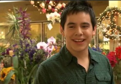 David Archuleta Crush video in LA flower shop