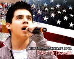 David Archuleta sings The Star Spangled Banner, AI Homecoming, Salt Lake City, May 2008