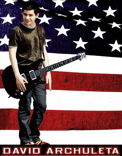 Old Glory and David Archuleta composite photo by R4D