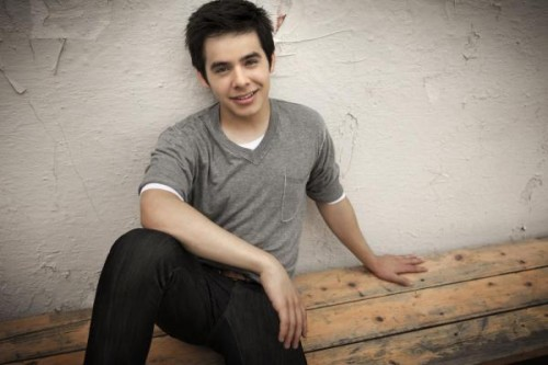 David Archuleta, album photos, August 2010, Jive Records