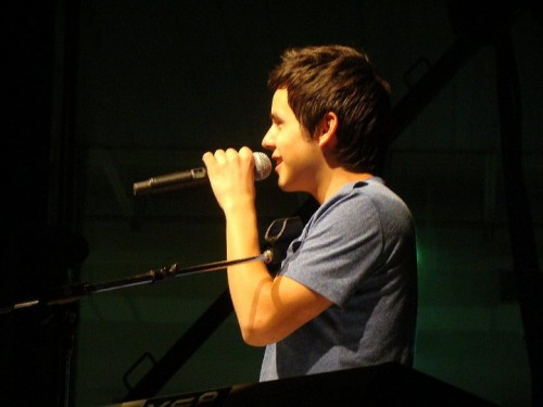 David Archuleta, Delta Fair and Music Festival, Memphis. 12 Sept 2010. Photo: Becca