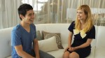 Idolator's Meet-up of David Archuleta and Alison Sudol