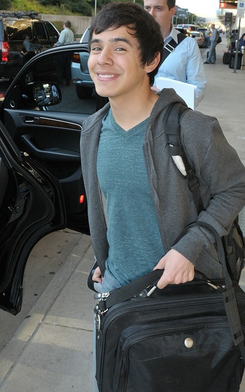 David Archuleta arrives in Washington D.C. 21 October 2010. Photo: Splash News