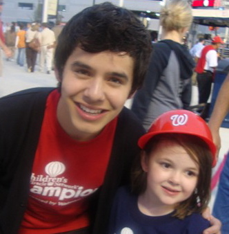 David Archuleta with Childrens Miracle Network, Washington D.C. October 2010