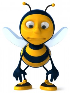 Huggleless Cartoon Honeybee. Kikki of Archuleta FanScene