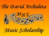 David Archuleta Music Scholarship logo